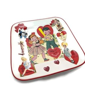Rosanna Valentines Retro Style Plate